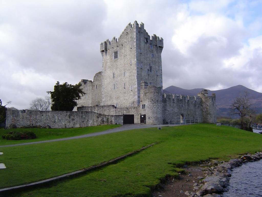 Ross Castle in Killarney,top 10 visitor attractions in Ireland