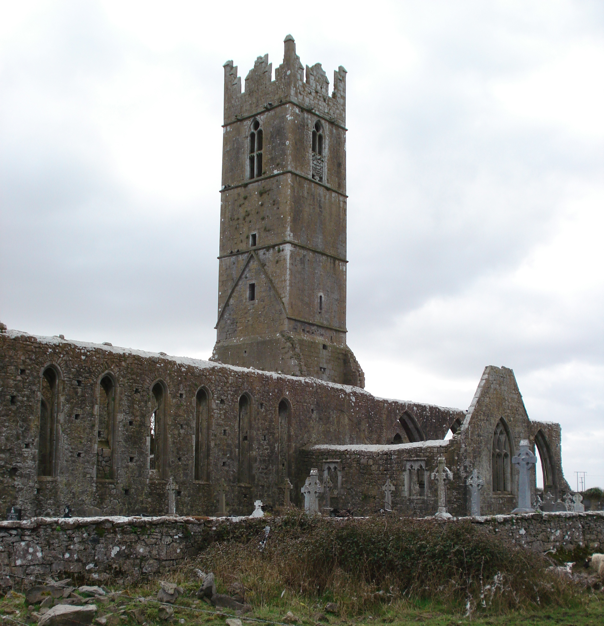 The Claregalway Friary – photos