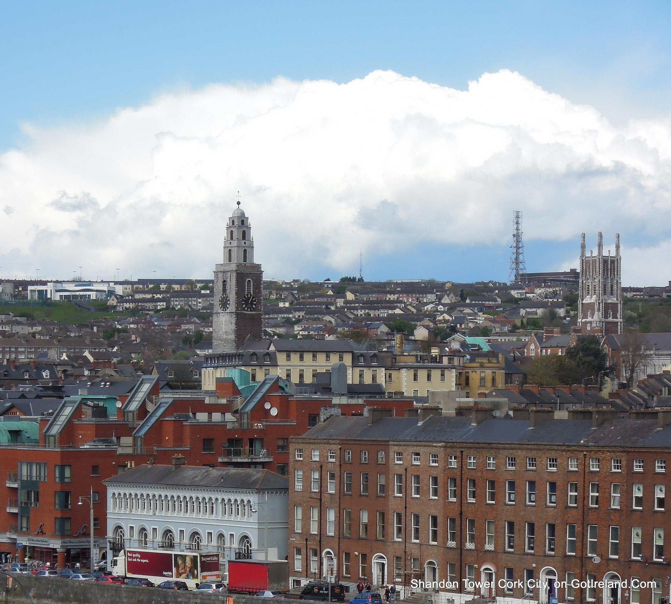 The Shandon Tower – Cork City's famous Four Faced Liar