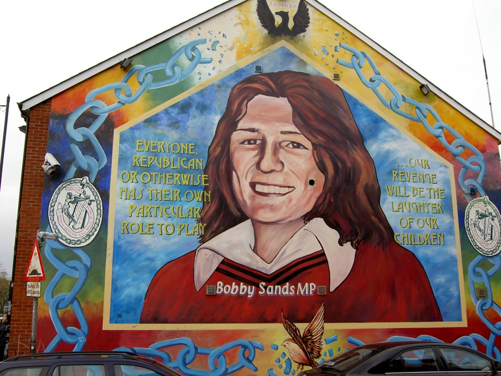 You are now entering free derry northern irelands wall murals bobby sands mural in belfast fandeluxe Image collections