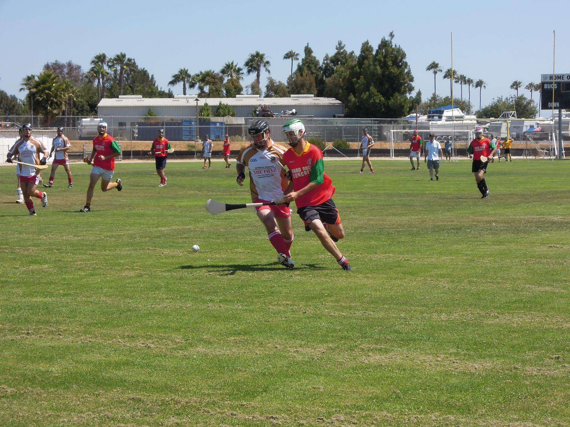 St. Peter's San Diego Hurling – First Home Game