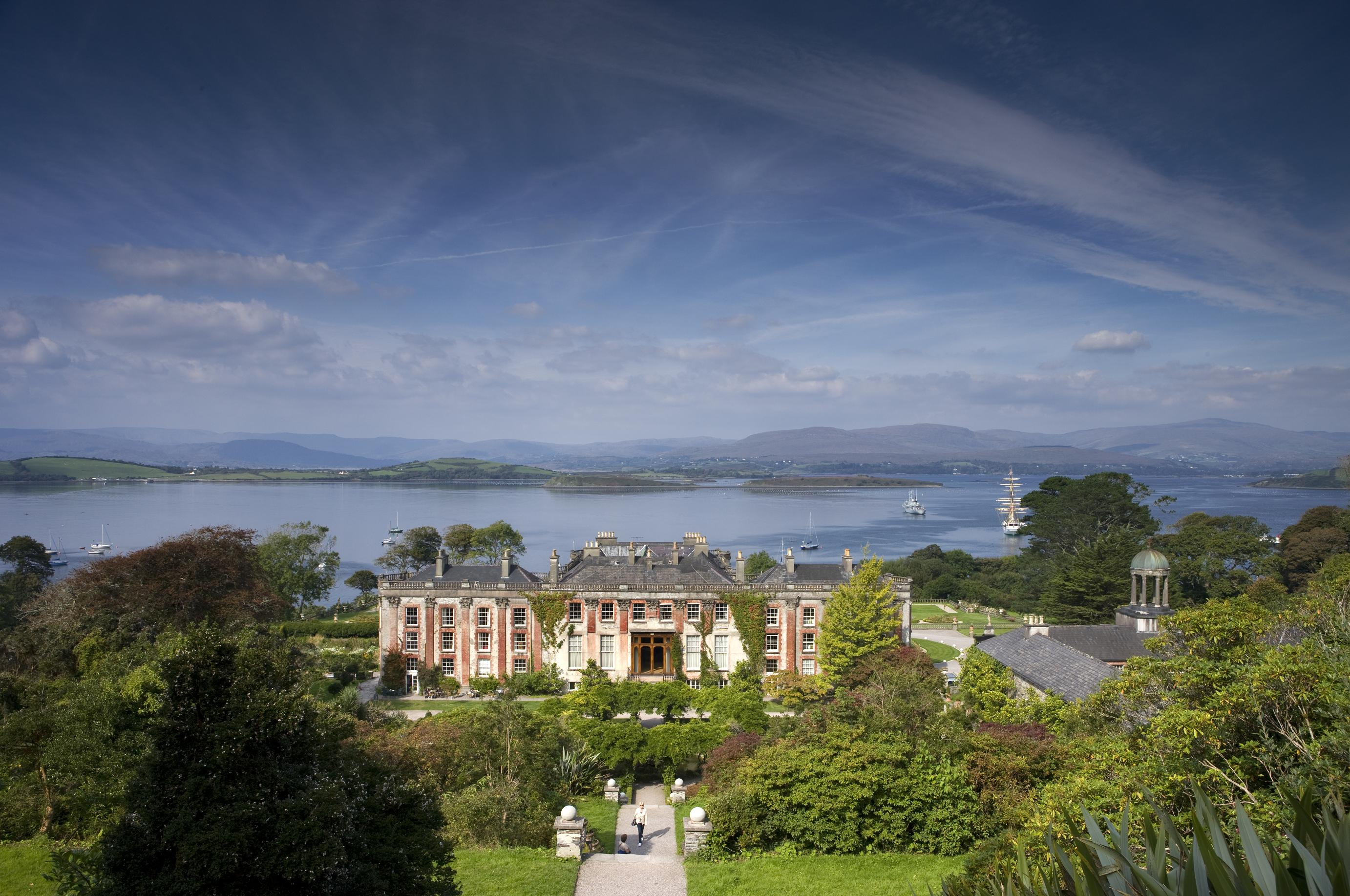 Bantry house and garden co cork a mid 18th century for Bantry house