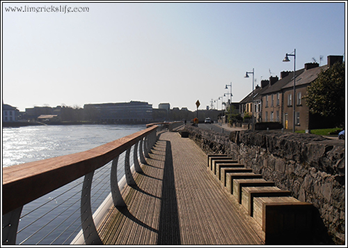 clancy strand,walking tour limerick