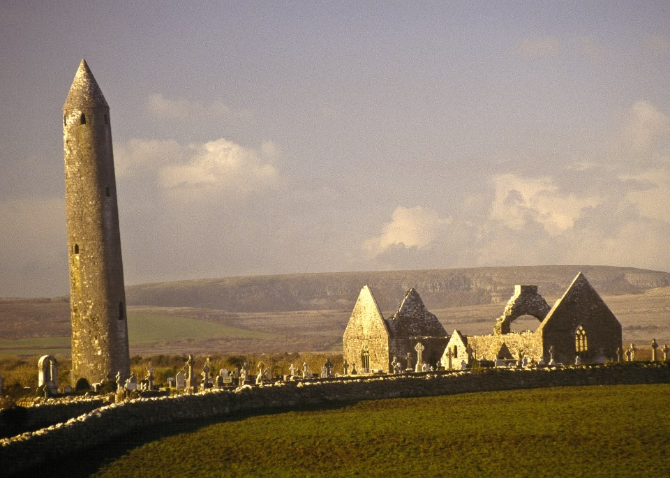 The leaning tower of Kilmacduagh