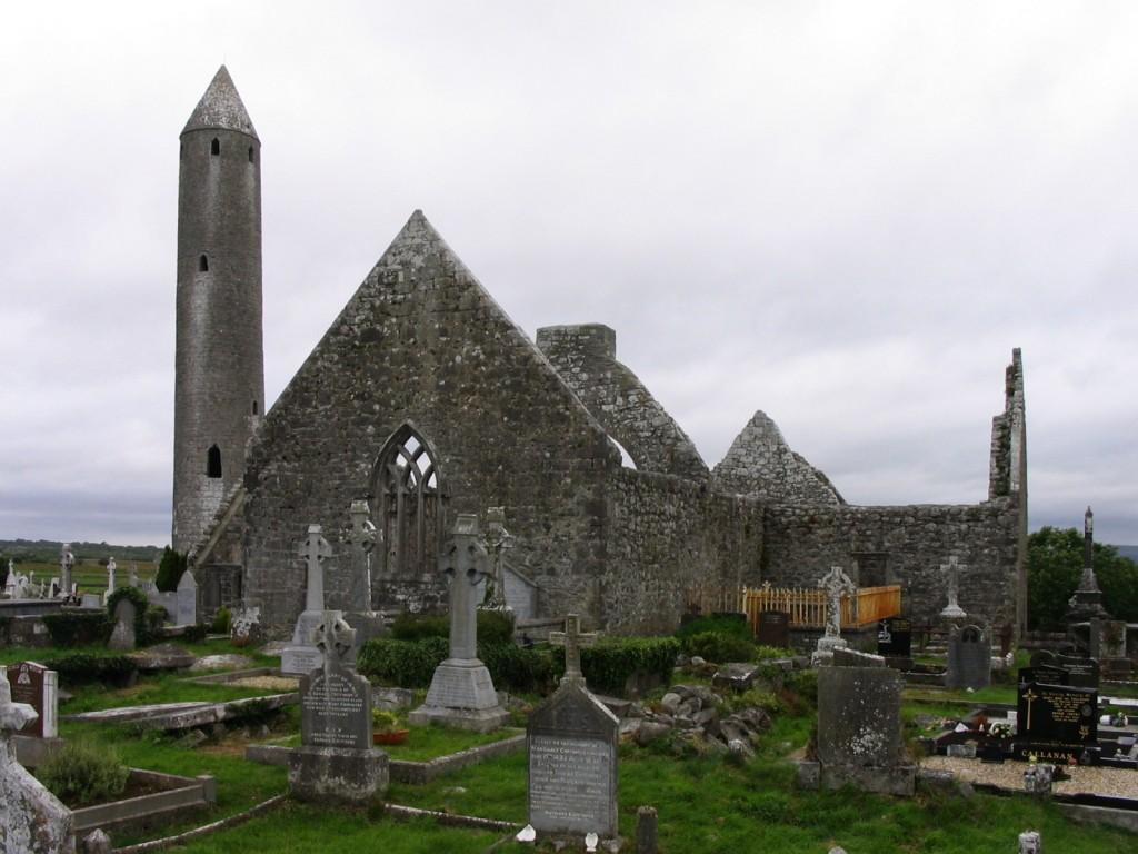 Kilmacduagh Abbey,co. galway