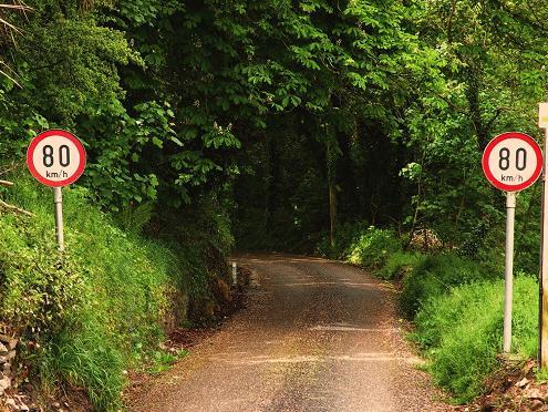 Irish County Road