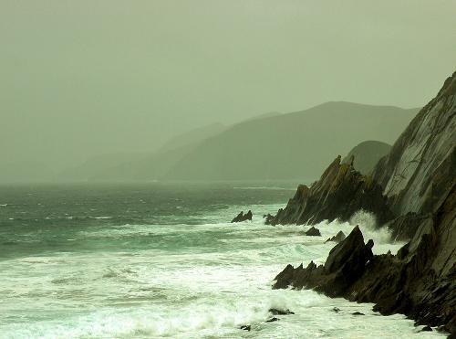 Jagged Irish Coastline