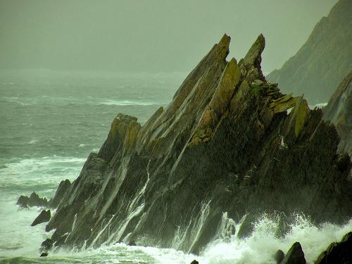Jagged Irish Coastline