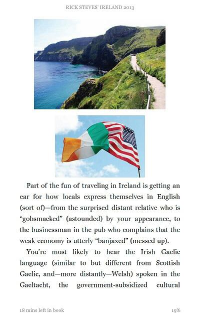 Rick Steves Ireland - sample page
