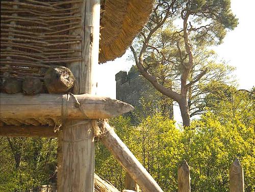 Craggaunowen Castle,Craggaunowen Crannog