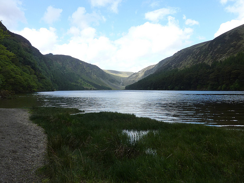 Lake at Glendalough
