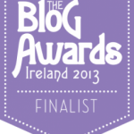 Finalist - Blog Awards Ireland 2013