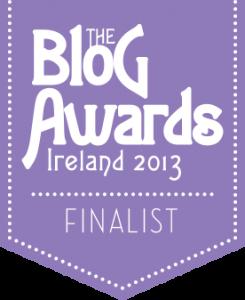 Finalist - Blog Awards Ireland 2013