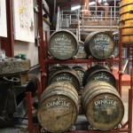 Dingle Whiskey Distillery casks