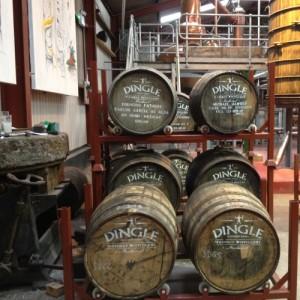 Dingle Whiskey Distillery casks