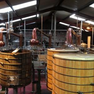 Dingle Whiskey Distillery Pots