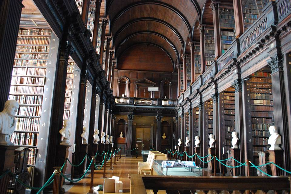 The Long Room at Trinity College