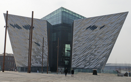 Titanic Center,Visit Belfast