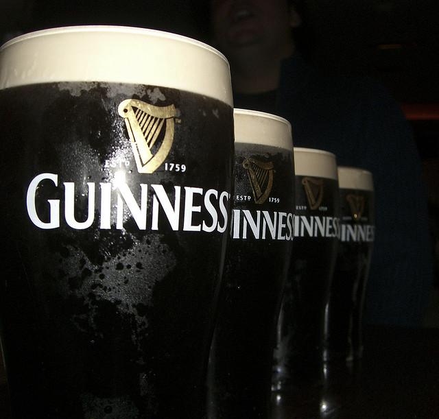 Guinness (image: Flickr/swissbhoy)