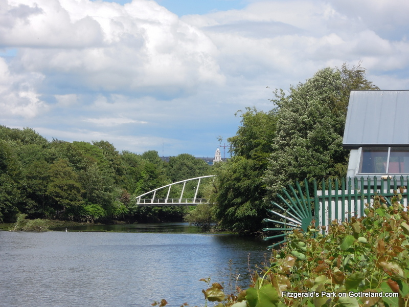 Fitzgeralds Park with Shandon Tower in the distance