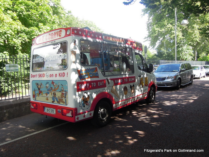 Irish Ice Cream van