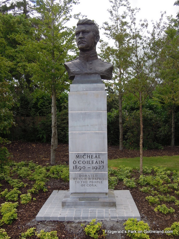 Michael Collins Statue in Fitzgeralds Park
