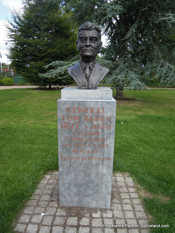 Tom Barry Statue in Fitzgeralds Park