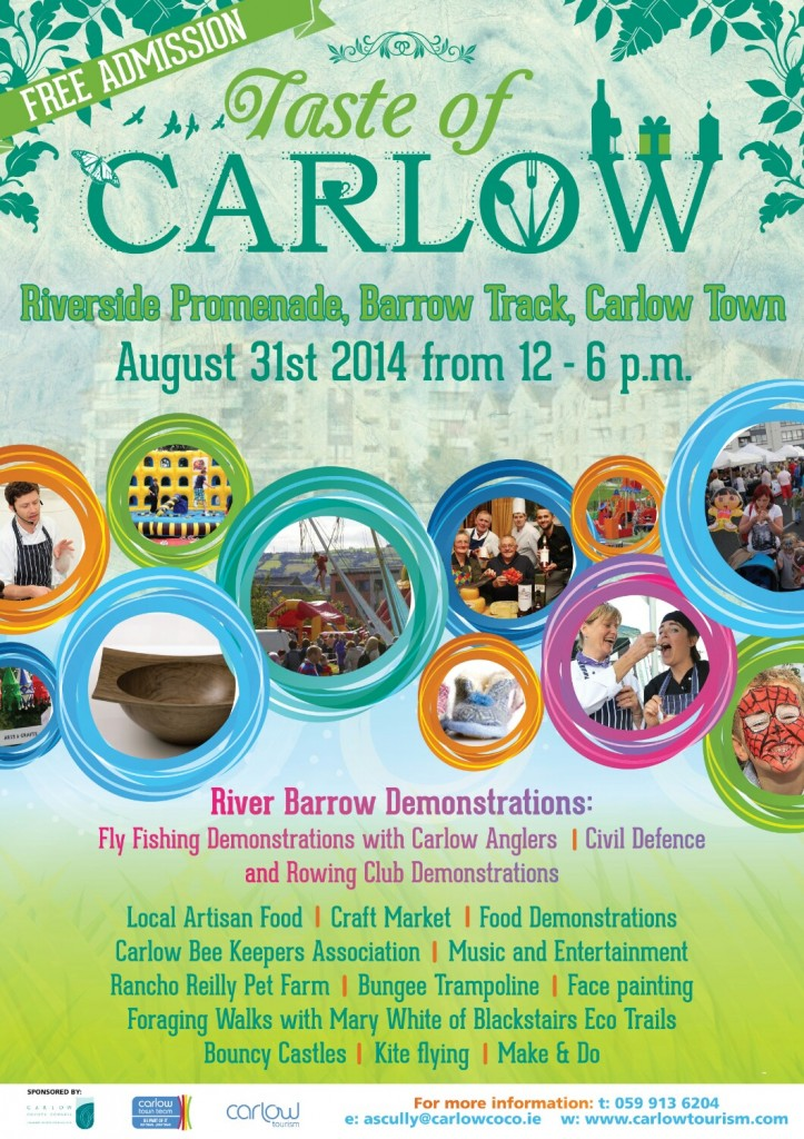 Taste of Carlow - Sunday 31st August
